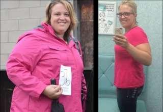 izgubila 50 kilograma