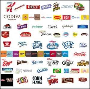 Svjetski poznati brandovi koji u proizvodnji svojih proizvoda koriste GMO.